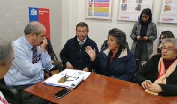 Subsecretario de Redes Asistenciales compromete concretar financiamiento para construcción de SAR de Miraflores