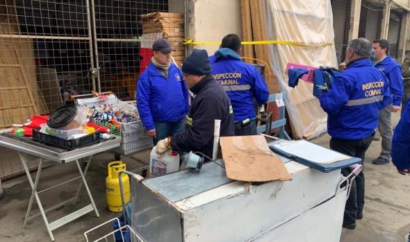 Municipio de Viña del Mar intensifica operativos contra comercio ilegal