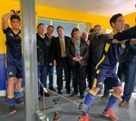 Nuevo Centro Integral de recuperación y rehabilitación del club Everton fue destacado por alcaldesa Virginia Reginato