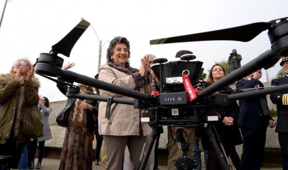 Municipio de Viña del Mar inició operación de drones para potenciar seguridad ciudadana