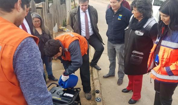 En Viña del Mar inician entrega de generadores para personas electrodependientes