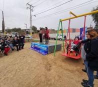 Municipio de Viña del Mar instala juegos inclusivos en distintos sectores de la comuna