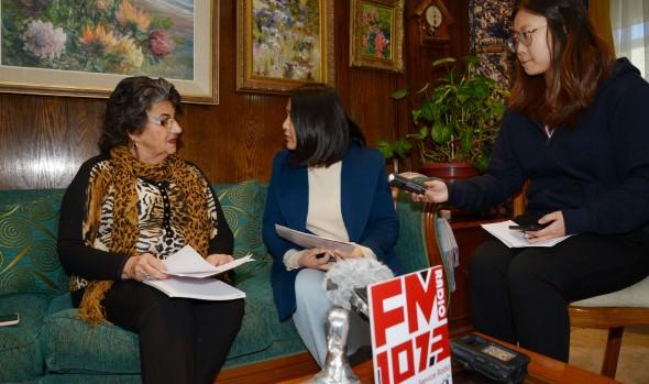 Radio Beijing entrevistó a alcaldesa Virginia Reginato por ser ejemplo a nivel mundial de apoyo a la cultura china