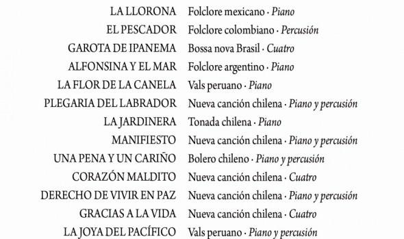 """Municipio de Viña del Mar invita a concierto """"América en la piel"""" en el Museo Palacio Rioja"""
