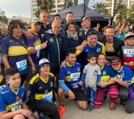 En homenaje a los 110 años de Everton, Municipio de Viña del Mar realizó 3ª fecha de las Corridas Familiares 2019