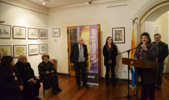 Municipalidad invita a exposición de acuarelas en el Castillo Wulff