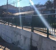 Municipio de Viña del Mar finalizó construcción de muro de contención en El Olivar