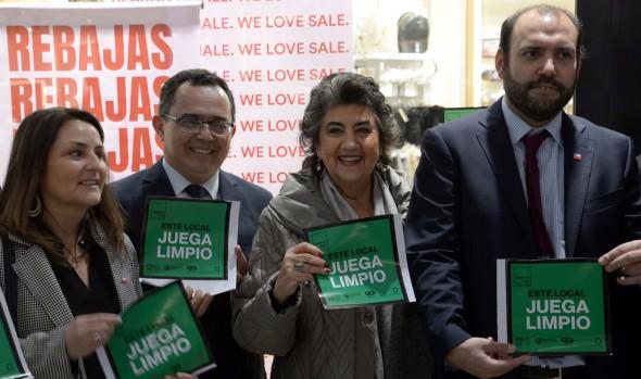 """En Viña del Mar, campaña """"Juguemos Limpio"""" en la región, invita a comerciantes informales a formalizarse"""
