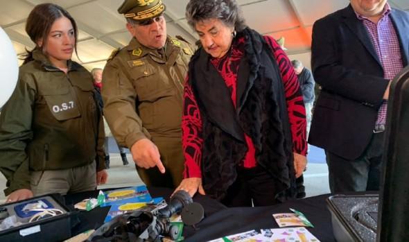 1ª Expo de Carabineros dio a conocer servicios a la comunidad en Viña del Mar