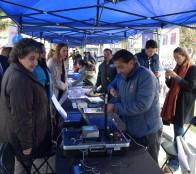 """Municipio de Viña del Mar y Gobernación provincial realizaron feria de seguridad """"Gobierno en Terreno"""""""