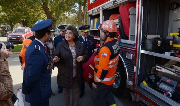 Municipio de Viña del Mar y Cuerpo de Bomberos lanzan 25ª Cena del Fuego