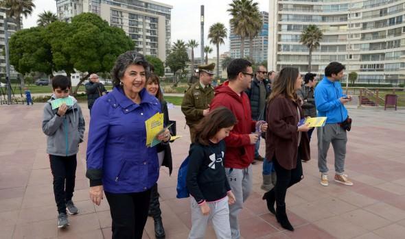 Vacaciones de invierno en Viña del Mar arrojan positivas cifras en turismo