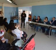 """Anuncio de JUNJI de retomar obras de jardín infantil """"Las Palmas"""" de Forestal fue valorado por alcaldesa Virginia Reginato"""