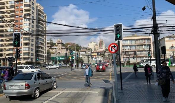Municipio de Viña del Mar informa eliminación de viraje desde Traslaviña a calle Viana