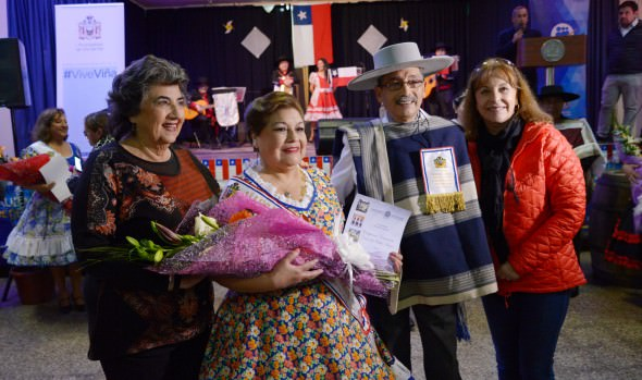 Viña del Mar eligió a sus representantes para el Campeonato provincial de cueca del Adulto Mayor