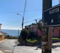 Municipalidad de Viña del Mar informa cierre momentáneo de bajada Bustos en Recreo