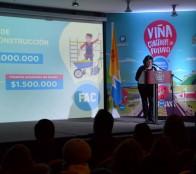 Alcaldesa Virginia Reginato valora los Fondos Concursables, como  herramienta de un presupuesto municipal participativo