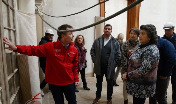 Palacio Vergara de Viña del Mar entra a etapa final de su restauración