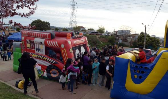 Municipio de Viña del Mar celebra el día del niño en tu sector