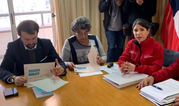 Alcaldesa Virginia Reginato solicitó apoyo a Subsecretaria de Prevención del Delito para mantener tranquilidad en la comuna