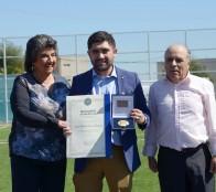 Alcaldesa Virginia Reginato declara como Hijo Ilustre a periodista y relator deportivo Patricio Barrera