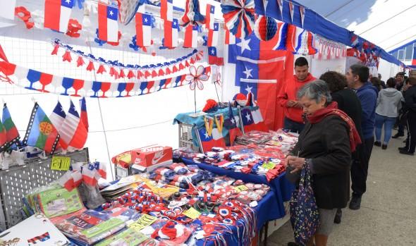 Atractiva variedad de productos ofrece Feria costumbrista de Viña del Mar para estas Fiestas Patrias