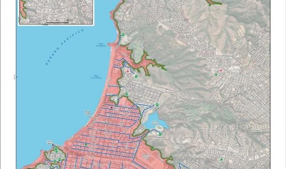 Municipio de Viña del Mar se encuentra preparado para simulacro de tsunami