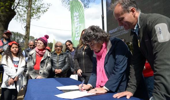 Miles de vecinos disfrutaron el Día de la familia en el jardín botánico de Viña del Mar