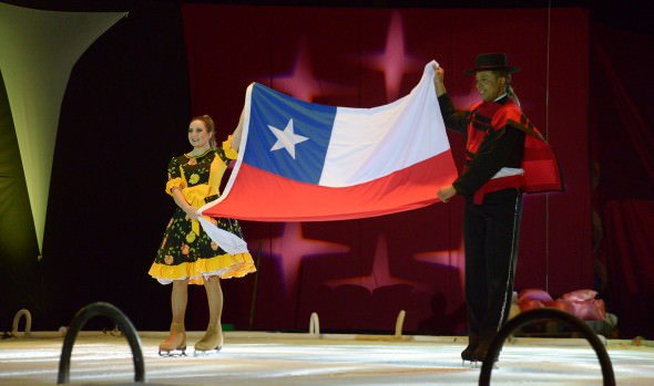 Municipio de Viña del Mar y circo ruso homenajearon al circo chileno