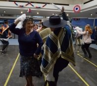 Ganadores del Concurso regional de cueca del adulto mayor fueron felicitados por alcaldesa Virginia Reginato