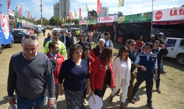 Autoridades hacen llamado a disfrutar las Fiestas Patrias en Viña del Mar con responsabilidad