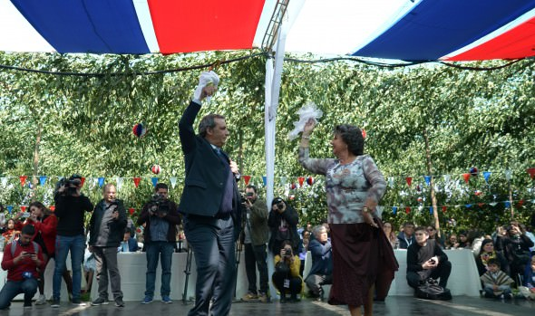 En inédita inauguración, alcaldesa Virginia Reginato dio el vamos a celebraciones patrias en Viña del Mar