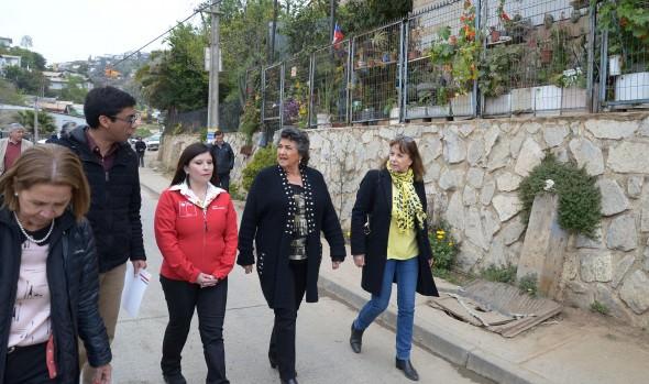 """Programa """"Quiero mi barrio"""" beneficia a vecinos de sector Esperanza Las Palmas de Forestal con más de $673 millones"""