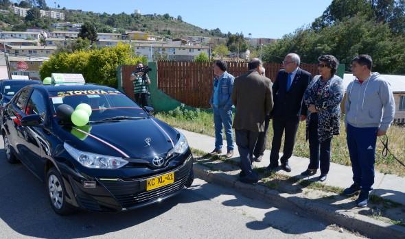 Nueva línea de taxis colectivos en El Olivar y sectores aledaños inicia marcha blanca