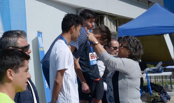 Alumnos de planteles municipales de Viña del Mar participaron en prueba de Cross Country organizada por CMVM