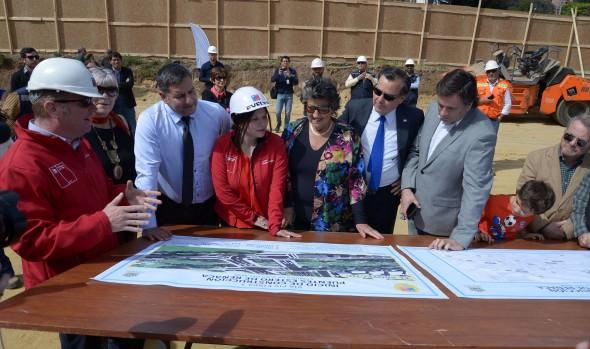 Inician construcción de puentes sobre estero en Reñaca como parte de la Vía PIV