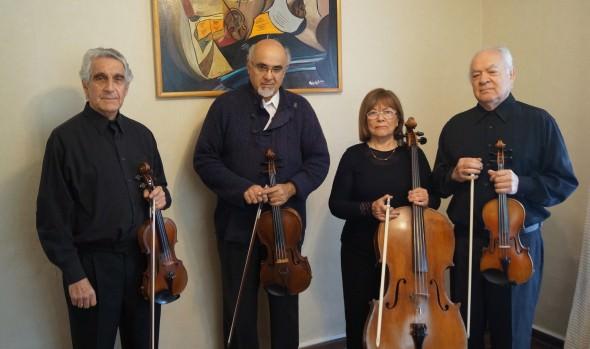 Municipio de Viña del Mar invita a concierto del Cuarteto de Cuerdas Clásico de Santiago con de obras de Mozart y Beethoven