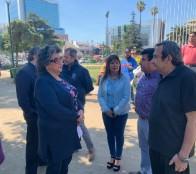 Alcaldesa Virginia Reginato oficia al Ministerio del Interior y autoridades regionales para resguardar el Orden Público