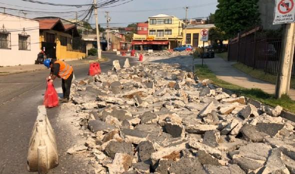 Se iniciaron trabajos de segunda etapa de pavimentación en calles de Recreo