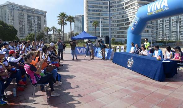 En Viña del Mar se realizará el 1er. torneo Internacional master de balonmano, Chile 2019