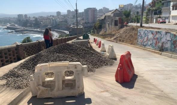Pavimentación de calles de Recreo registran importante avance