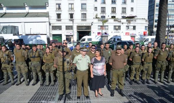 Carabineros implementa Plan de seguridad y fiscalización del comercio ambulante en Viña del Mar