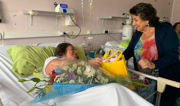 Municipalidad de Viña del Mar entregó ajuares a primeros bebés nacidos el 2020 en el Hospital Dr. Gustavo Fricke