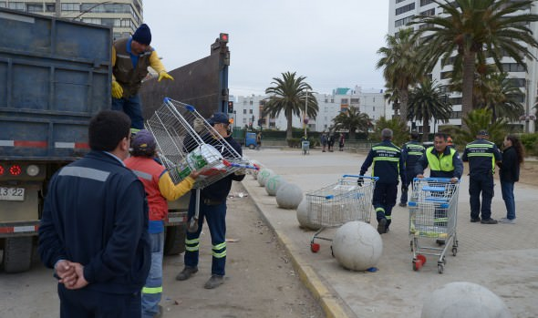 Municipio de Viña del Mar intensifica operativos contra el comercio ilegal
