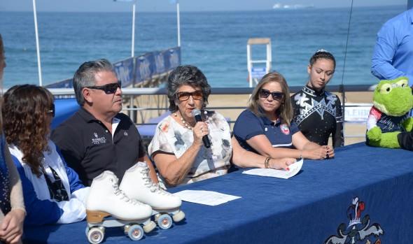 Más de 600 competidoras participan en el campeonato nacional de patinaje artístico de Viña del Mar
