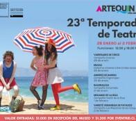 Municipio de Viña del Mar invita a la 23ª temporada de teatro del Museo Artequin
