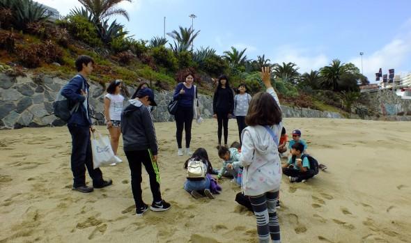 Continúan desarrollándose los talleres de verano para conocer el patrimonio cultural y natural en Viña del Mar
