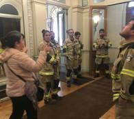 Bomberos conoció proyecto para resguardar objetos patrimoniales del Museo Palacio Rioja ante catástrofes
