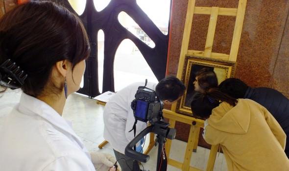 PDI registra científica y policialmente 10 pinturas del museo de Bellas Artes del Palacio Vergara
