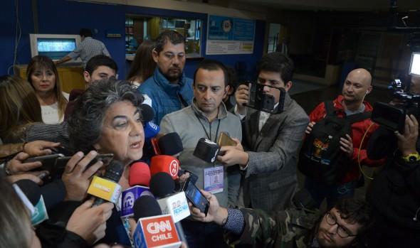 Alcaldesa Virginia Reginato emplaza a Presidente de la República a terminar con la delincuencia y violencia